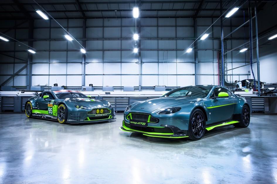 Aston Martin Vantage GTE - Vantage GT8 - 2016 - front side-face / profil avant