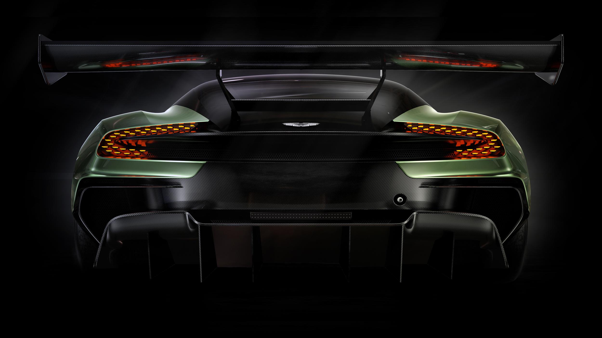 Aston Martin Vulcan - arrière