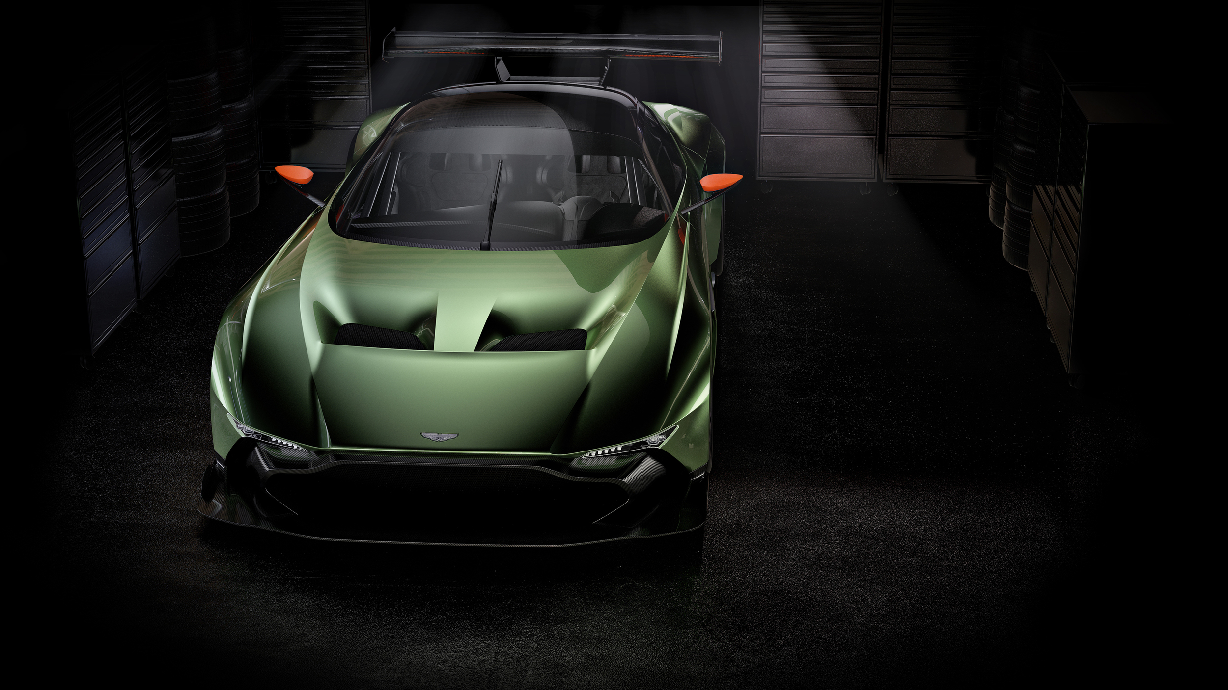 Aston Martin Vulcan - avant