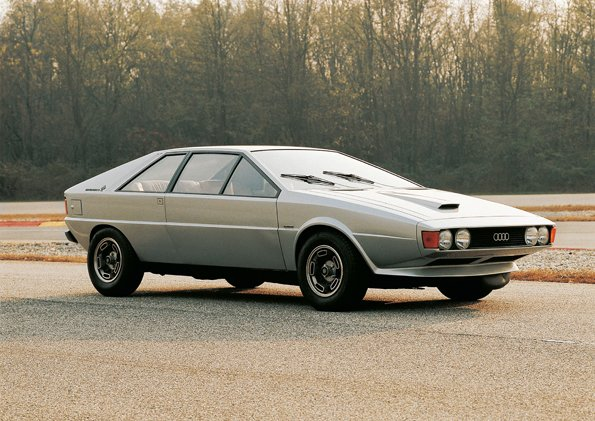Asso di picche, l'ancêtre Audi Giugiaro du concept Nanuk Quattro
