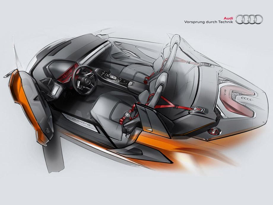 Architecture Audi Nanuk Quattro concept