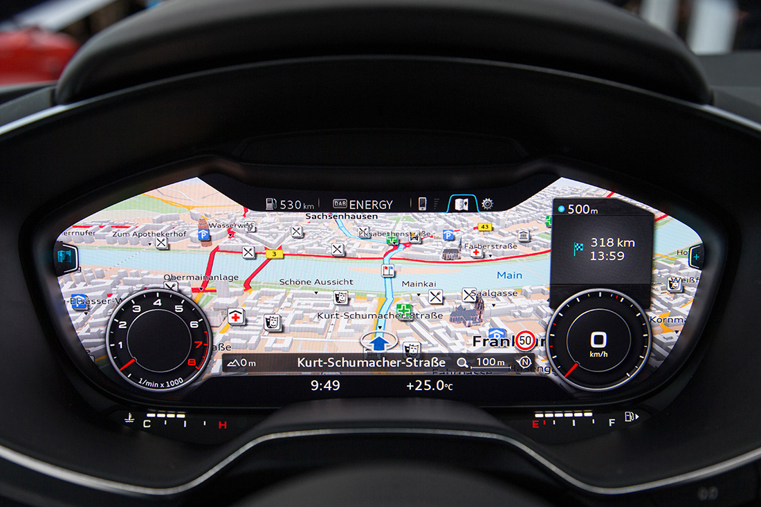Tableau de bord - Audi TT 2014