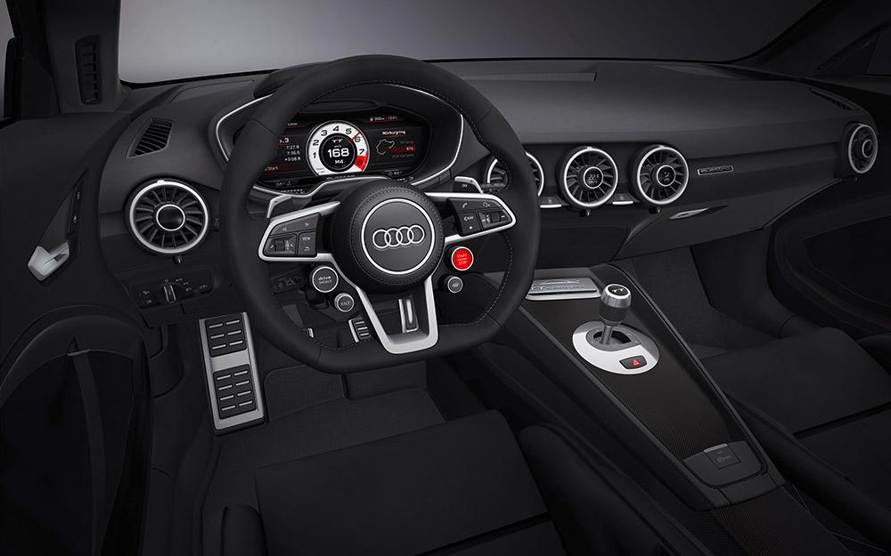 Intérieur - Audi TT Quattro Concept