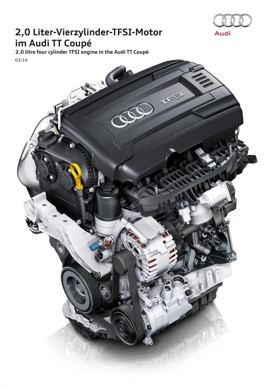 Moteur TFSI - Audi TT