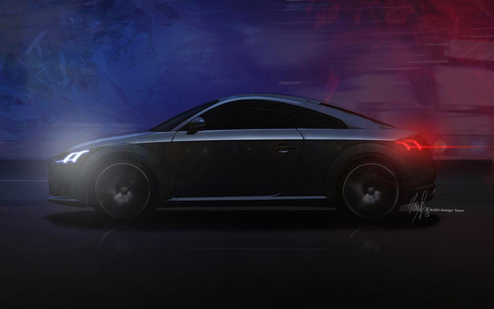 Sketch Audi TT