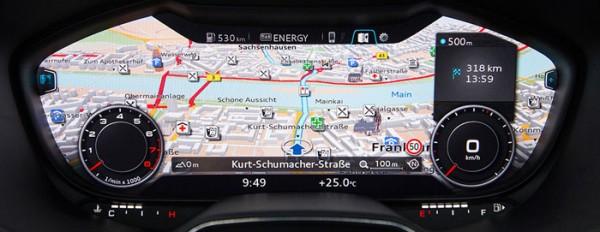 Audi TT Tableau de bord 2014