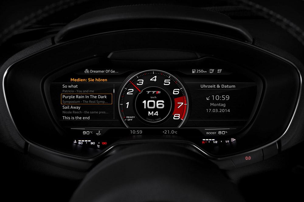 Tableau de Bord - Audi TTS