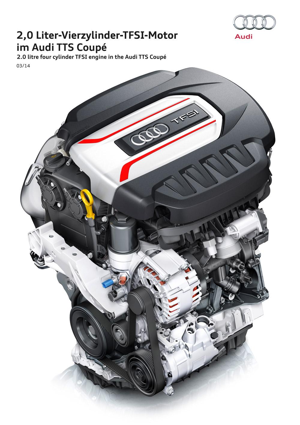 Moteur TFSI - Audi TTS