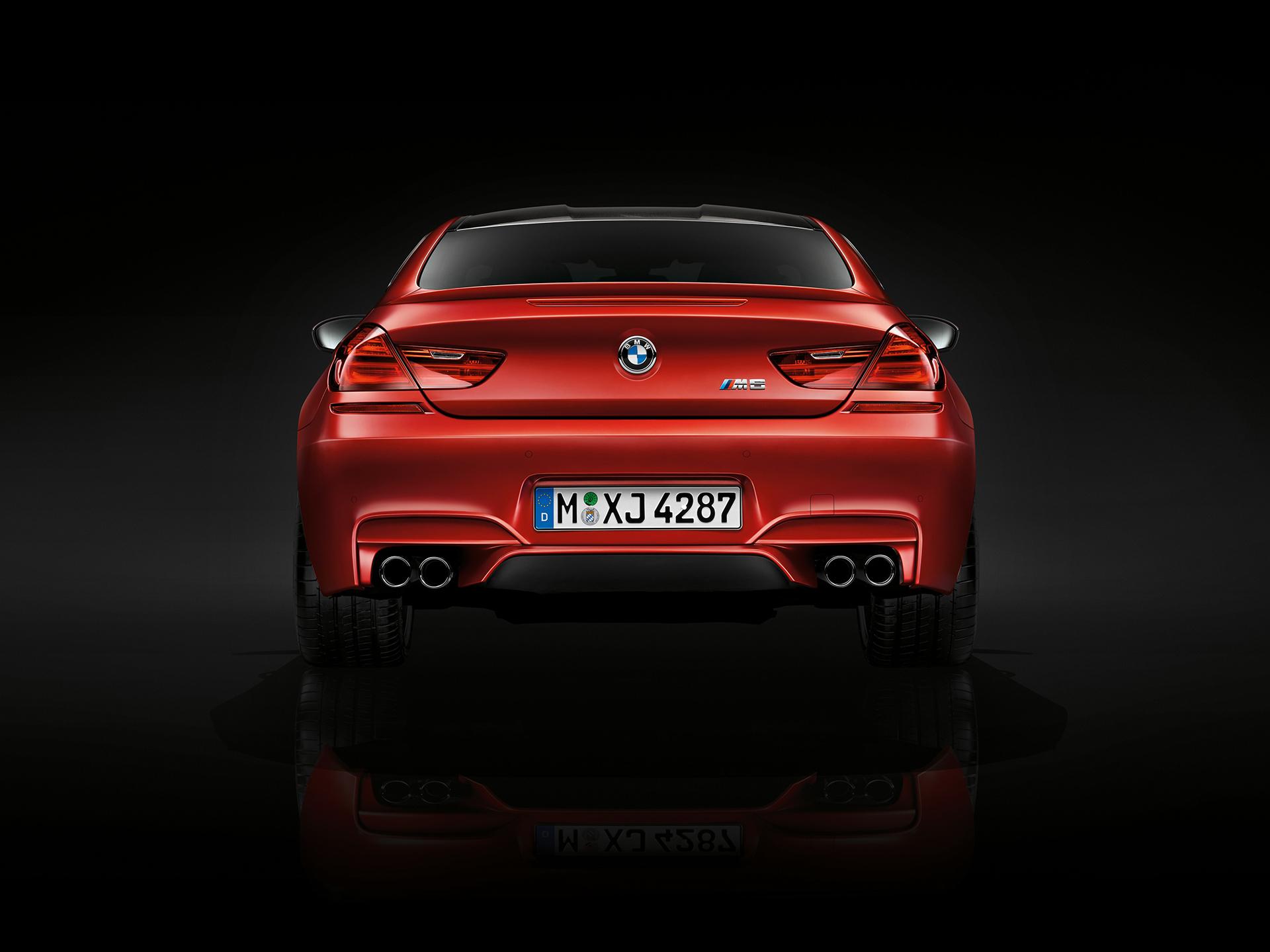 BMW M6 coupé 2015 - rear / arrière