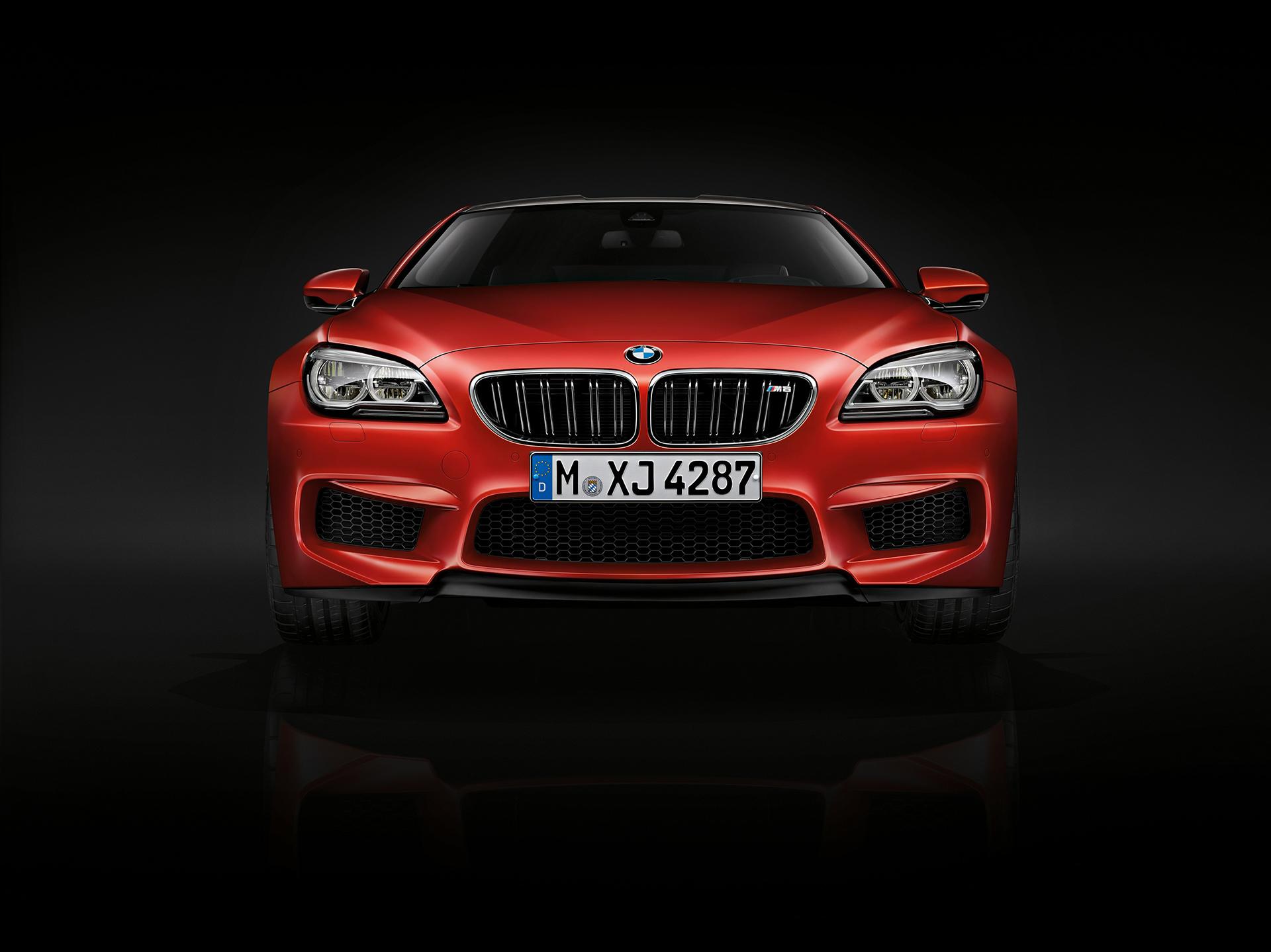 BMW M6 coupé 2015 - front / avant