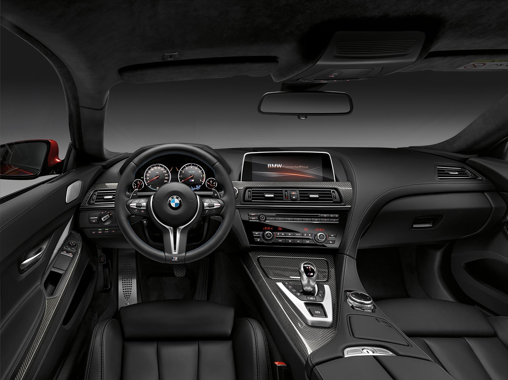 BMW M6 coupé 2015 - interior / intérieur