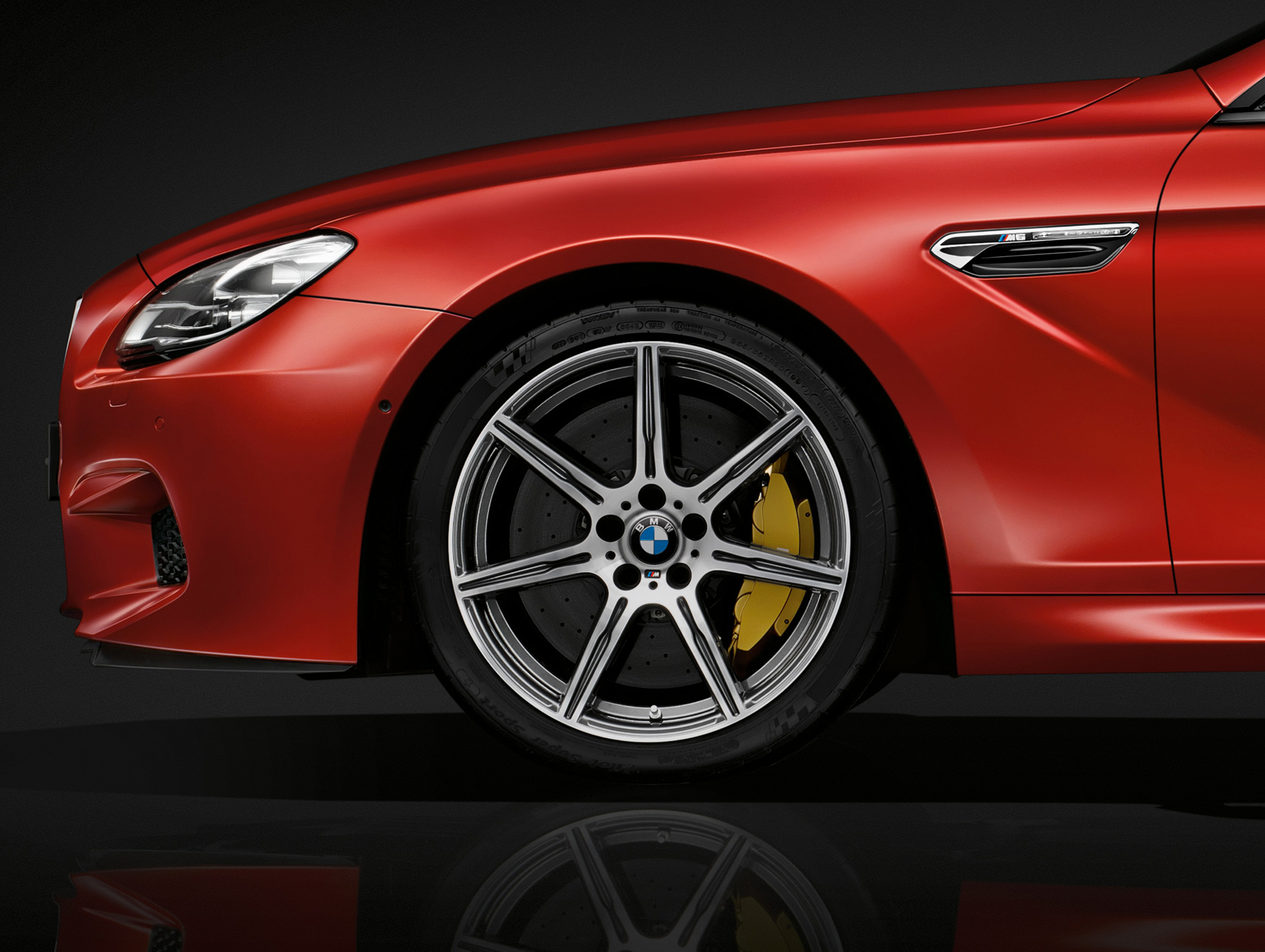 BMW M6 coupé 2015 - wheel / jante