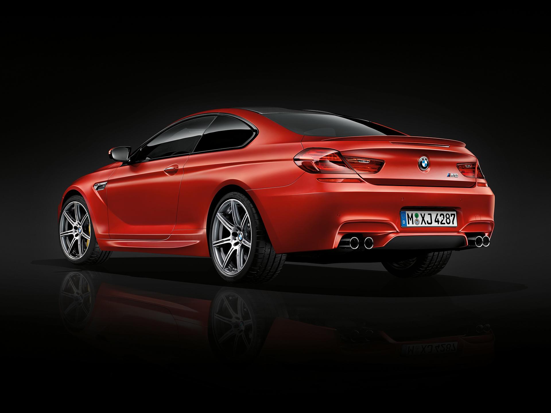 BMW M6 coupé 2015 - rear side-face / profil arrière