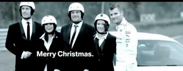 Chant de Noël en BMW