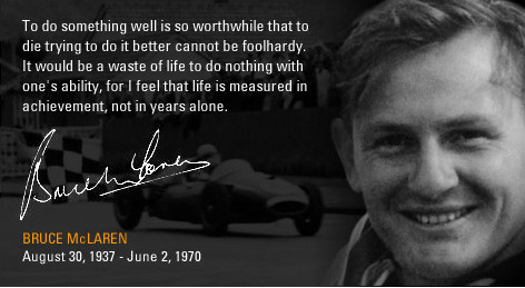 Source image citation de Bruce McLarensite Bruce McLaren