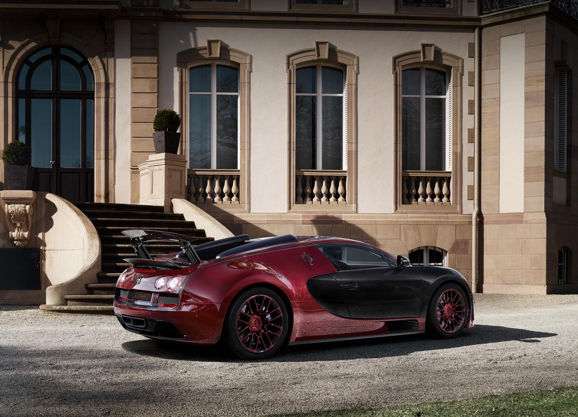 Bugatti Veyron Grand Sport Vitesse La Finale - profil