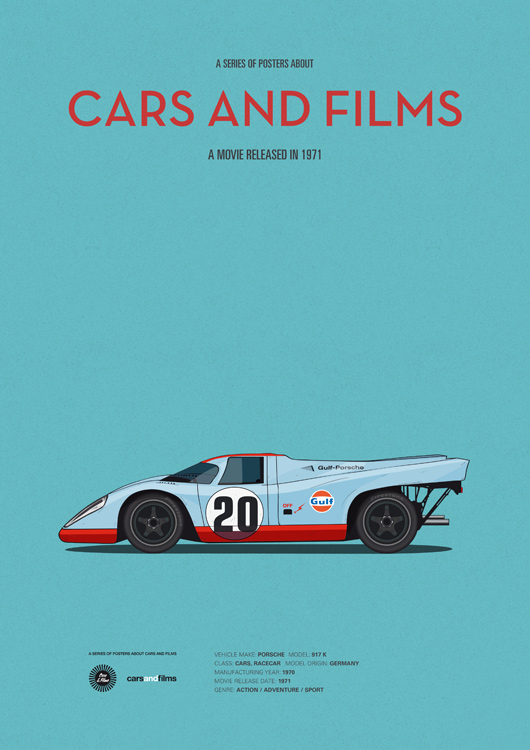 Cars and films - Le Mans
