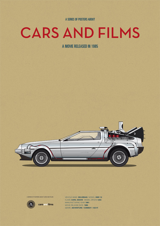 Cars and films - Retour vers le Futur