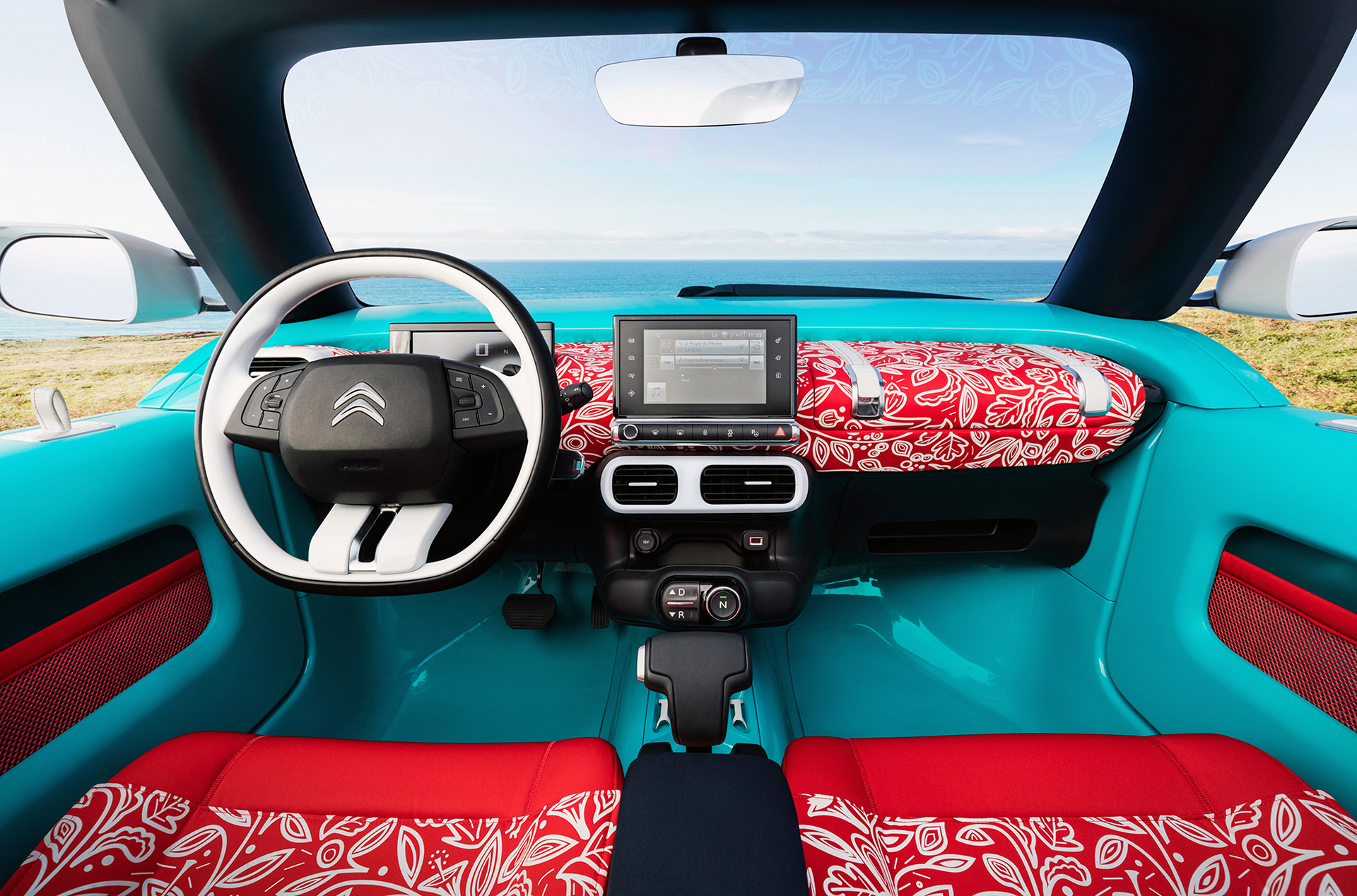 Citroën Cactus M concept - 2015 - drive