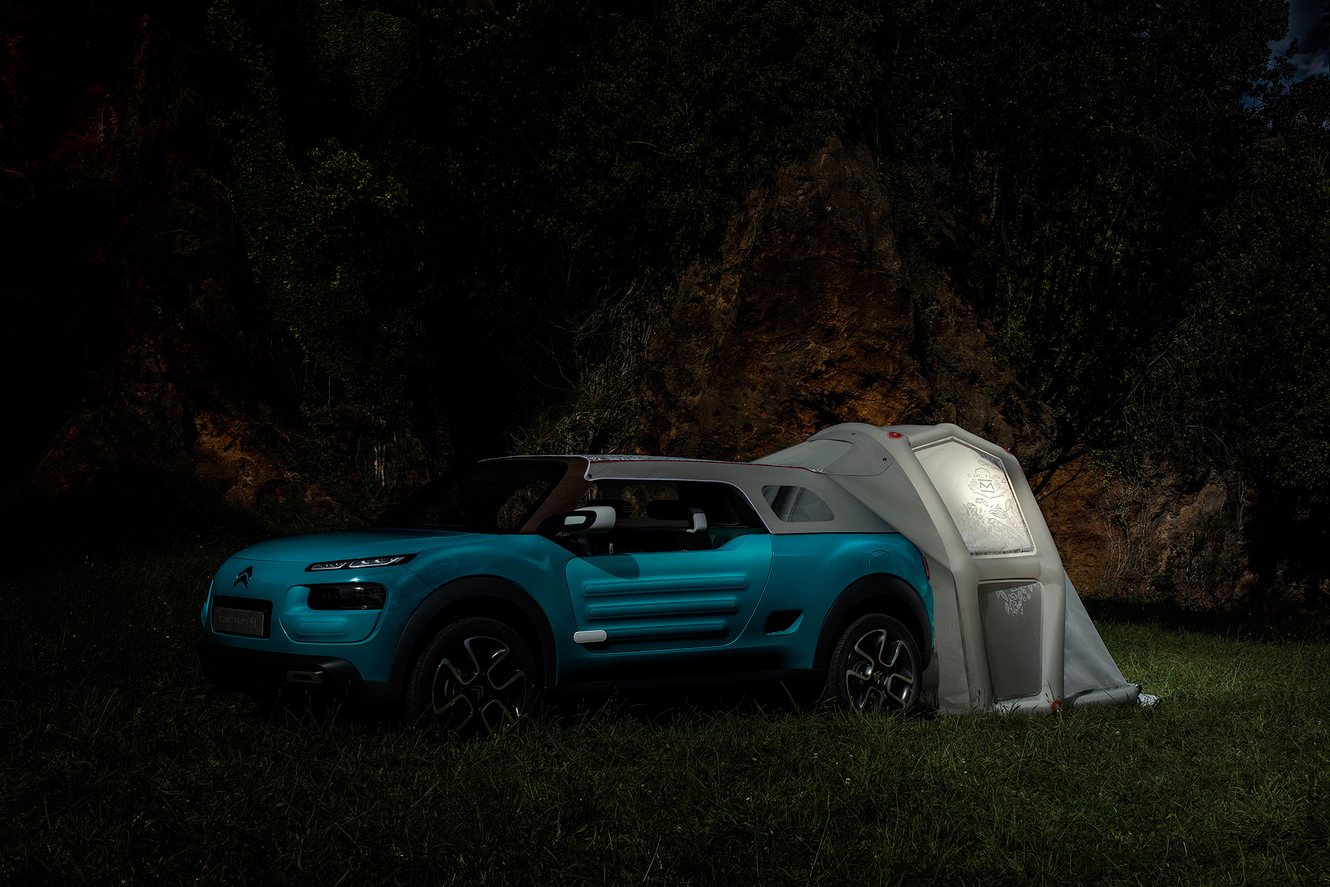 Citroën Cactus M concept - 2015 - night
