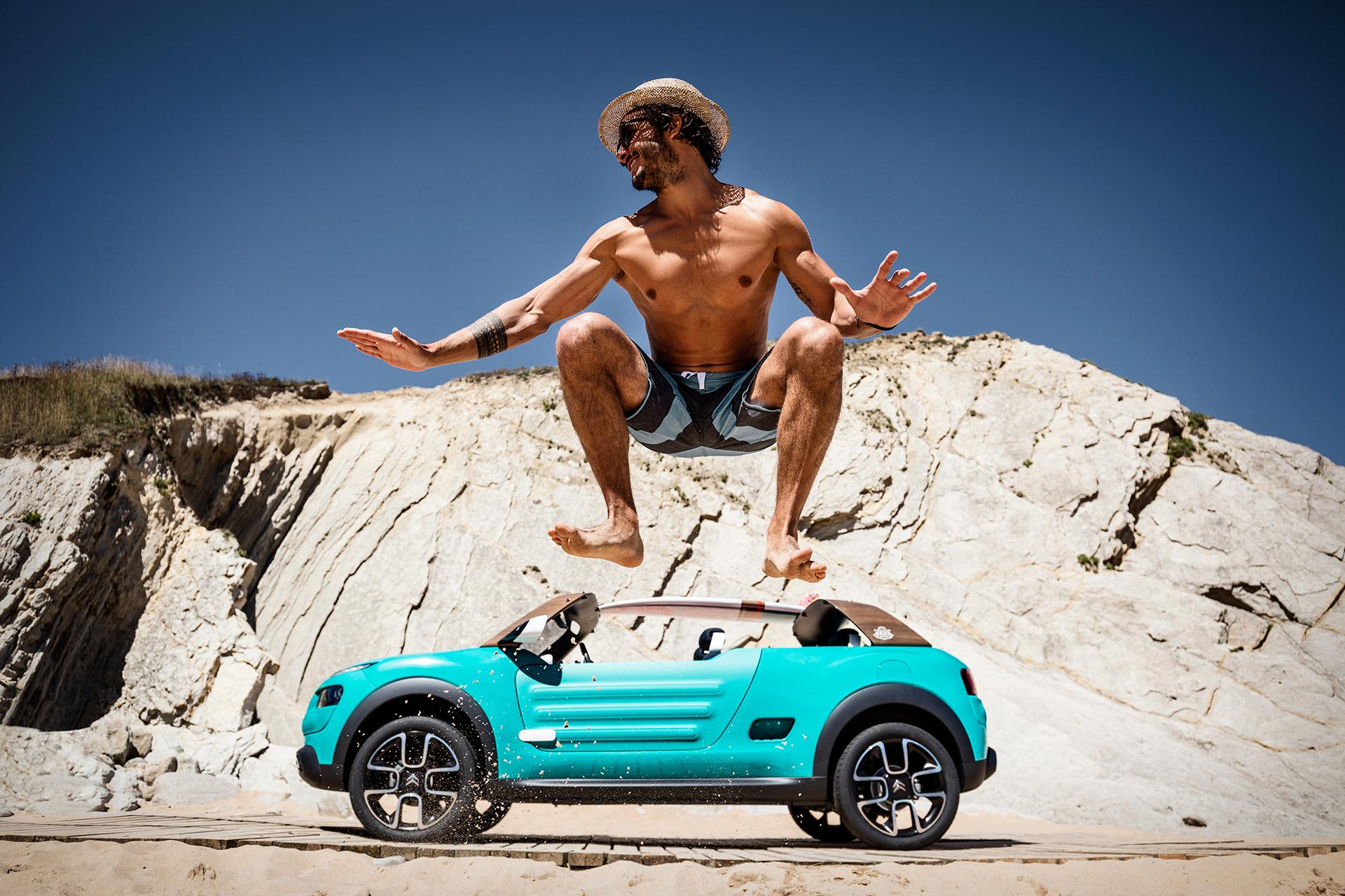 Citroën Cactus M concept - 2015 - jump