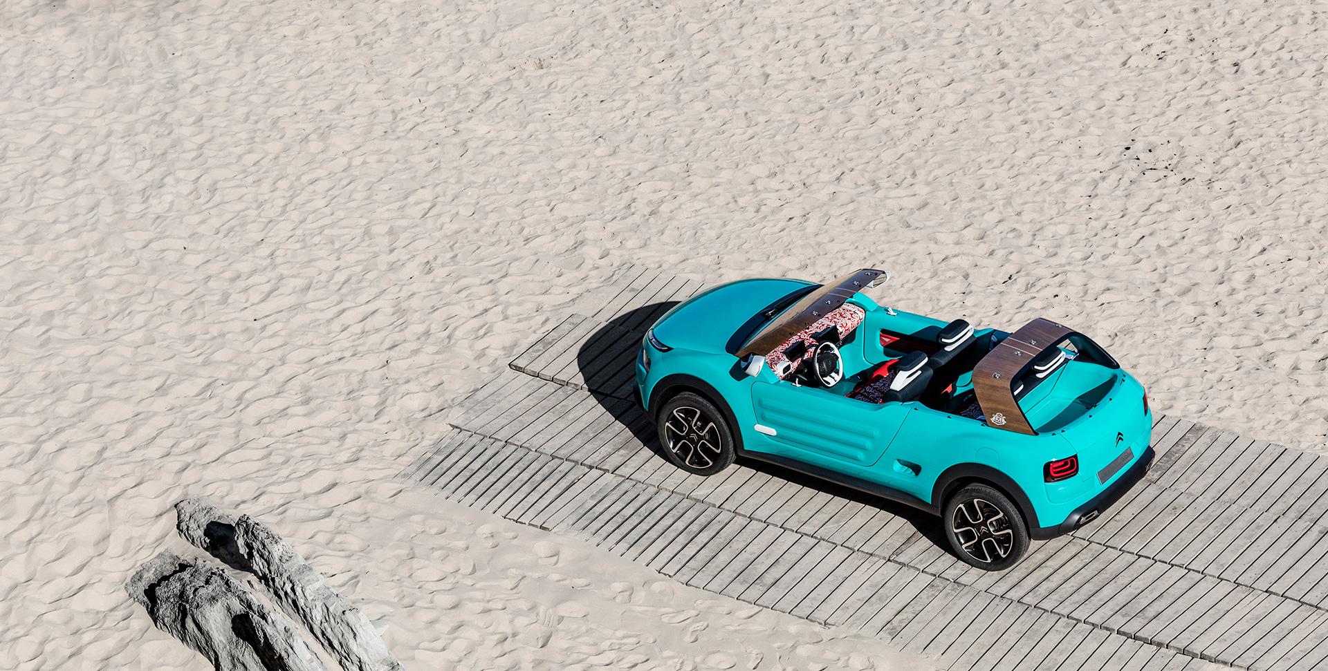 Citroën Cactus M concept - 2015 - sand