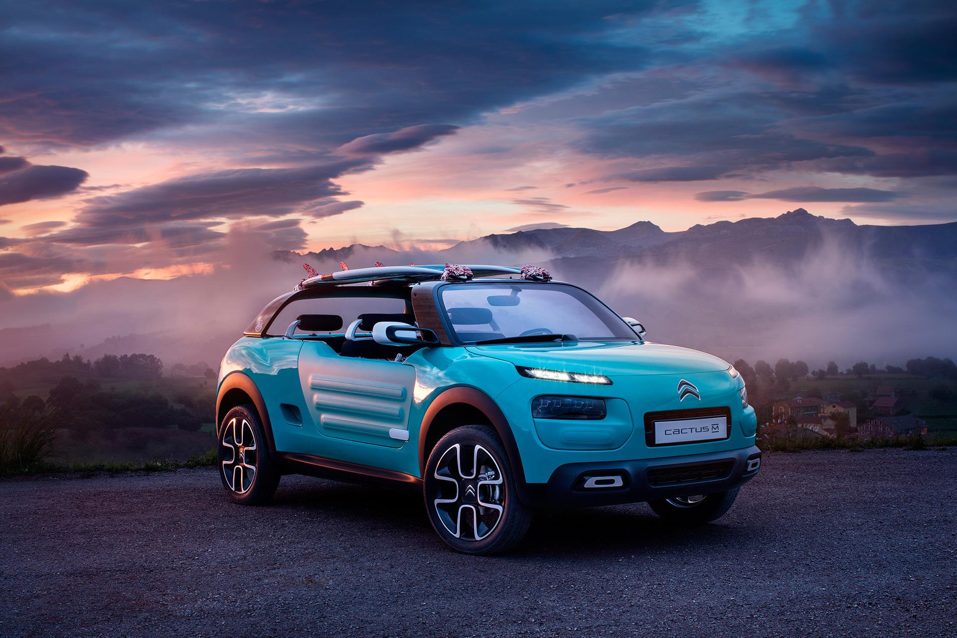 Citroën Cactus M concept - 2015 - sky