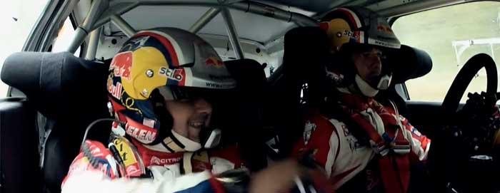 Citroën WRC Sébastien Loeb et Daniel Elena