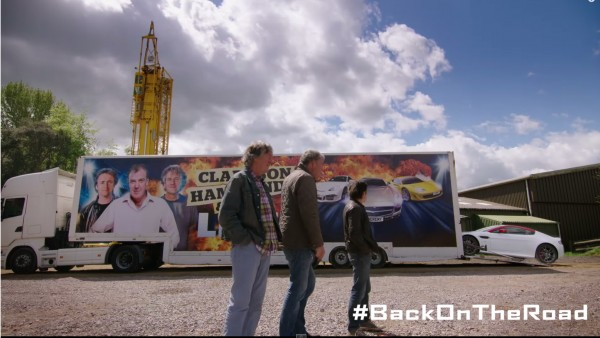 Clarkson, Hammond and May #BackOnTheRoad