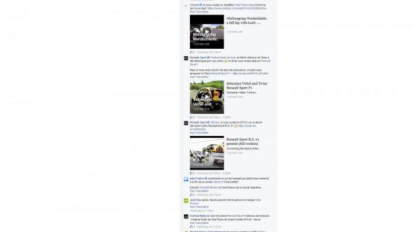 Quand les Community Manager de Renault Sport, Citroën Racing, répondent sur Facebook sur le Gorafi