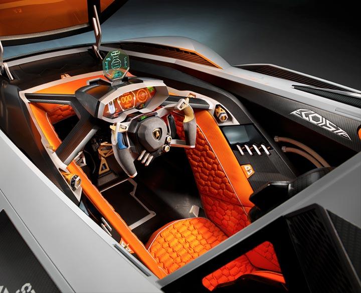 Cockpit Egoista Lamborghini
