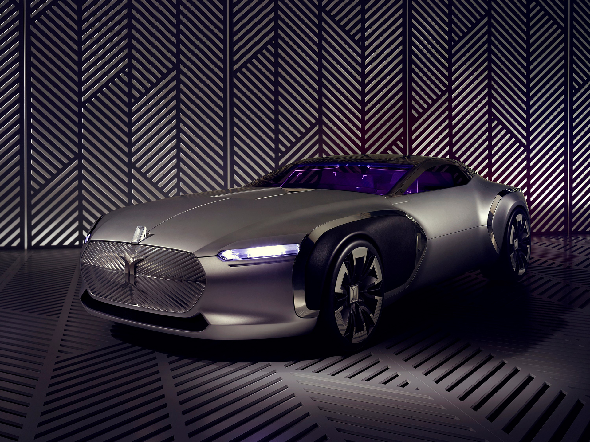 Coupé Corbusier Concept - 2015 - profil avant / front side-face - Design Groupe Renault