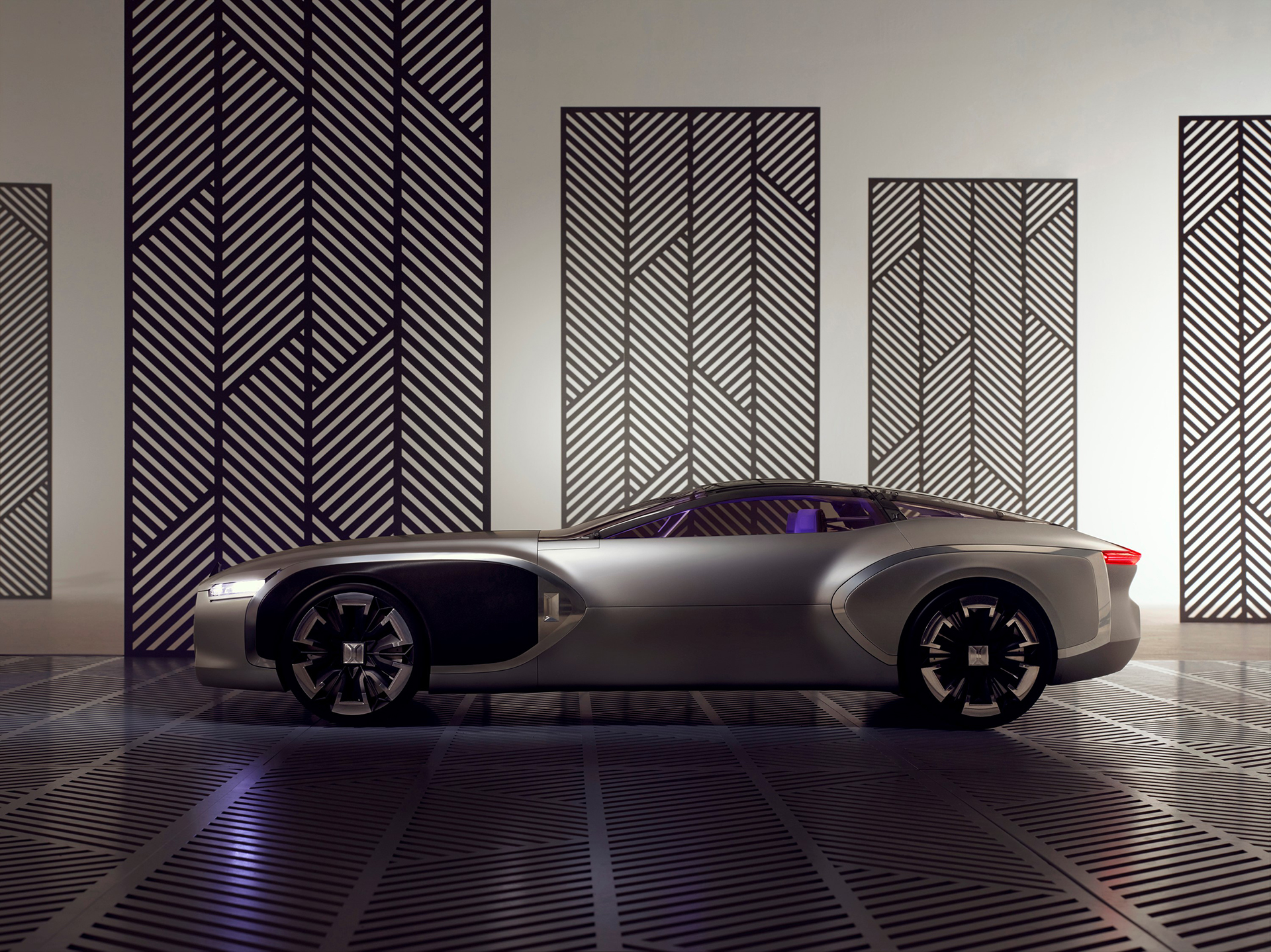 Coupé Corbusier Concept - 2015 - profil / side-face - Design Groupe Renault