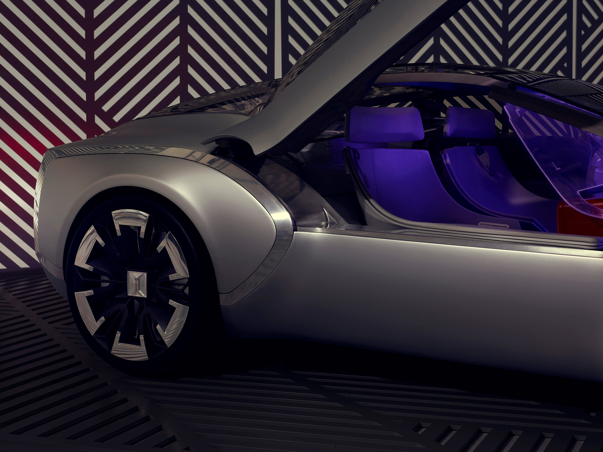 Coupé Corbusier Concept - 2015 - roue / wheel - Design Groupe Renault