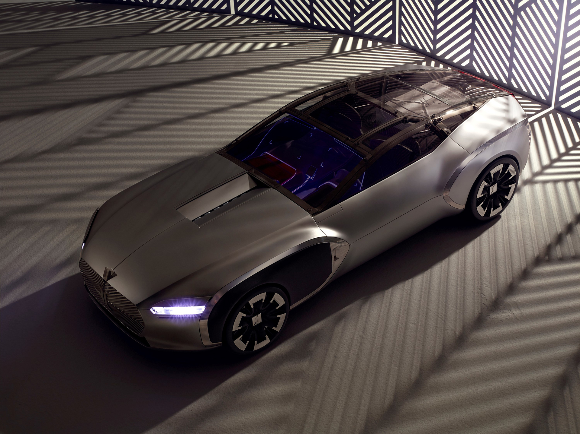 Coupé Corbusier Concept - 2015 - toit / top - Design Groupe Renault