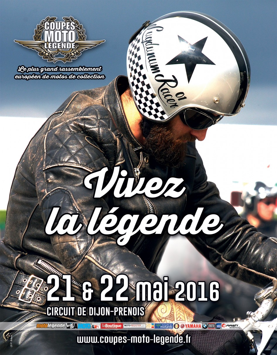 Coupes Moto Légende 2016 - poster