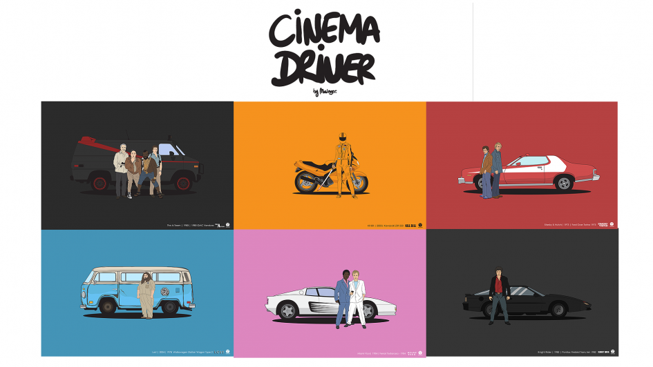 Cinema Driver - by Mainger - cover