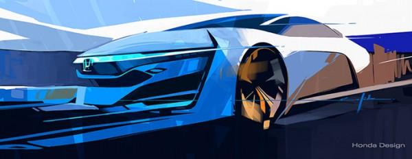 Teaser Honda concept FCEV