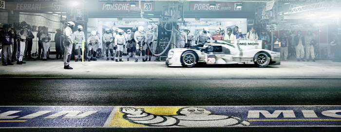 Le Mans - Michelin - Racers