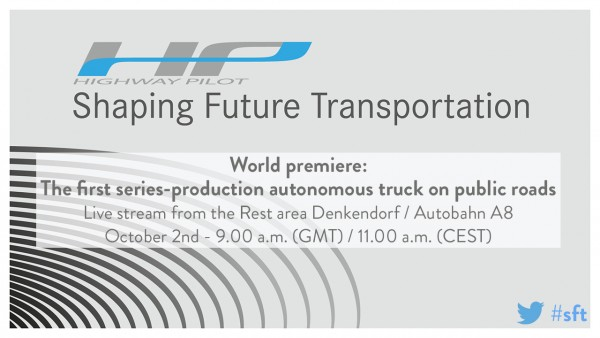 Daimler Trucks Daimler Trucks World premiere - teaserWorld premiere