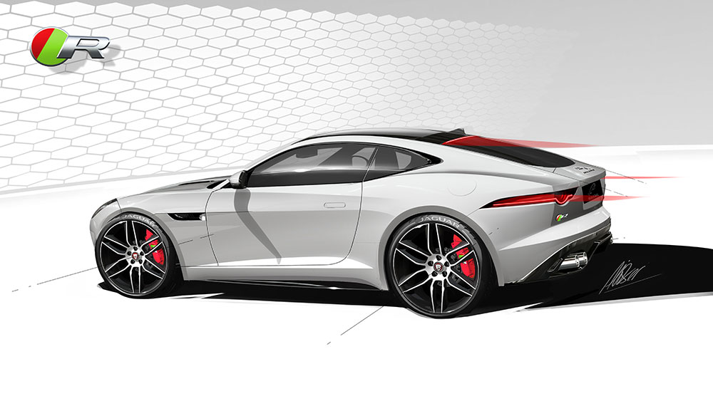 Design Jaguar F-TYPE Coupé