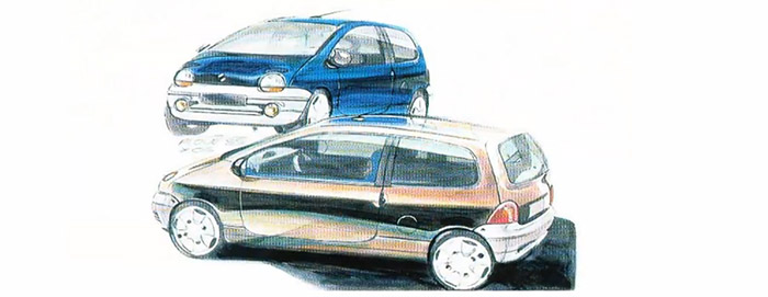 Design Twingo 1992