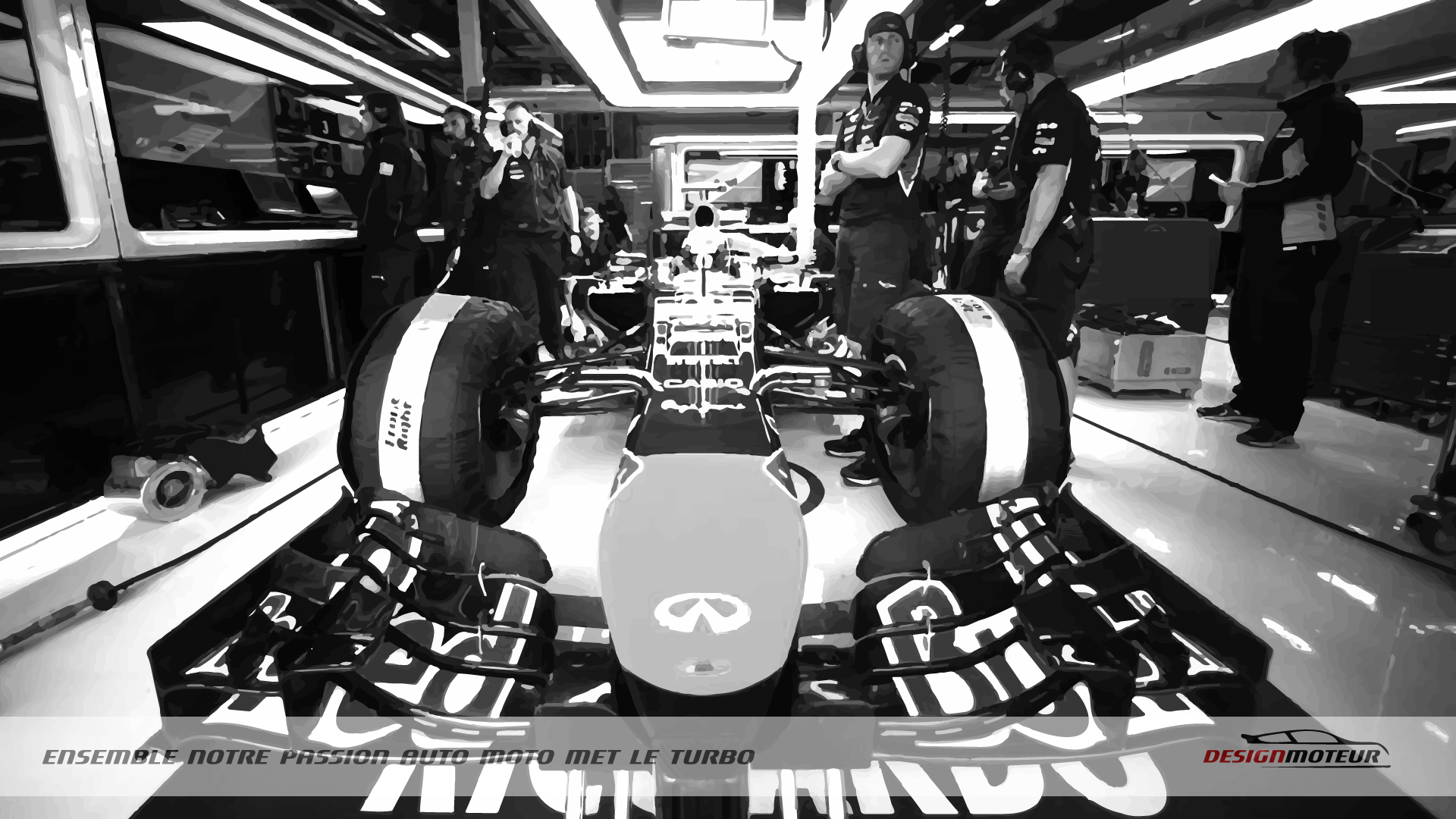 Wallpaper DESIGNMOTEUR 2015 – F1