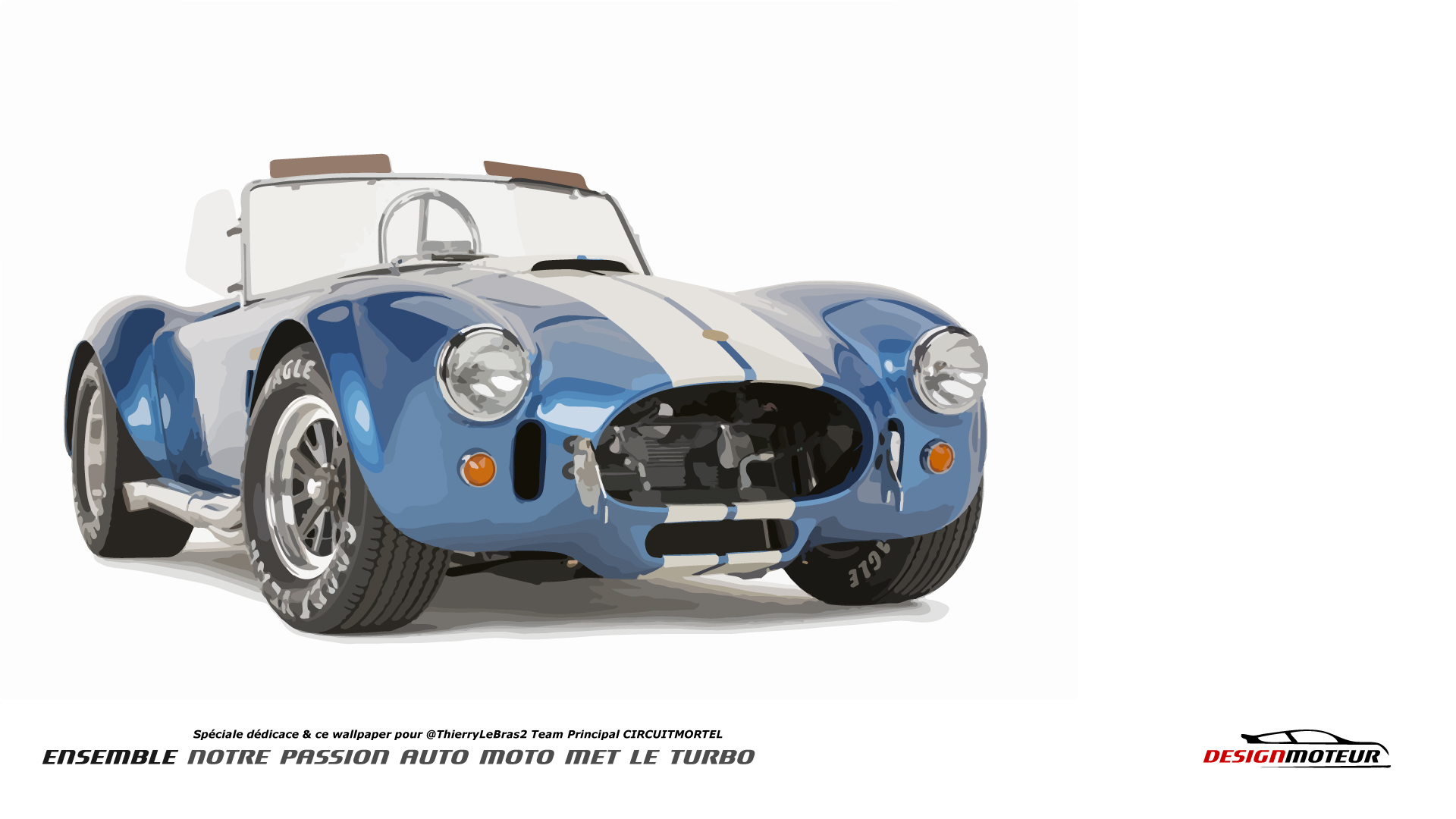Wallpaper DESIGNMOTEUR 2015 – Shelby Cobra
