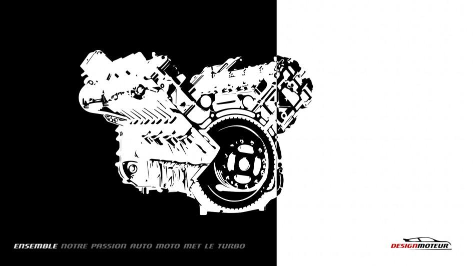 Wallpaper DESIGNMOTEUR 2014 - 608 ch V8
