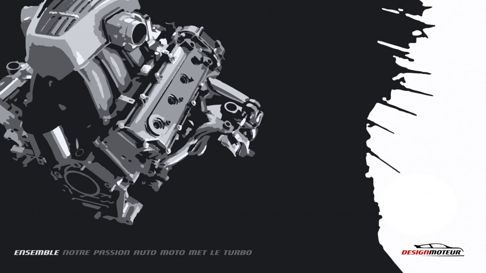 Wallpaper DESIGNMOTEUR 2014 - M838T Engine of Year