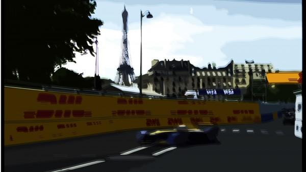DM artwork - 2016 - Paris ePrix