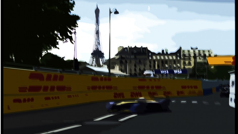 DM artwork - 2016 - Paris ePrix