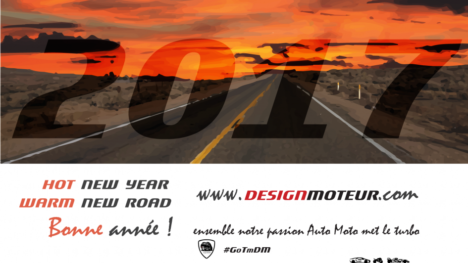 New Year - New Road - artwork 2017 - DESIGNMOTEUR