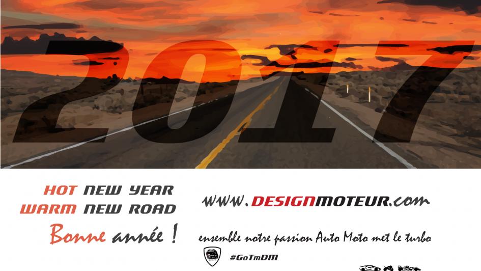 New Year - New Road - artwork 2017 - DESIGNMOTEUR